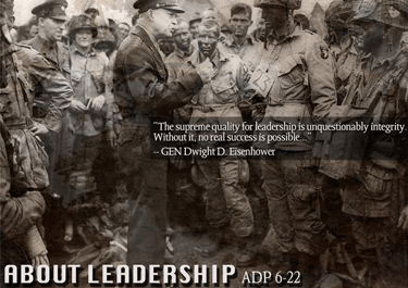About Leadership: ADP 6-22