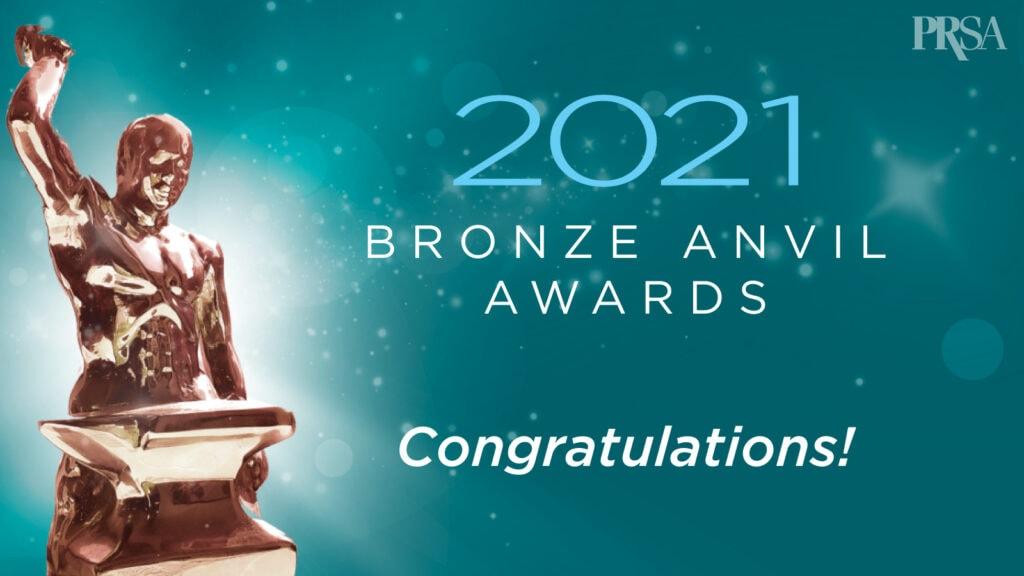 Barbaricum awarded PRSA 2021 Bronze Anvil