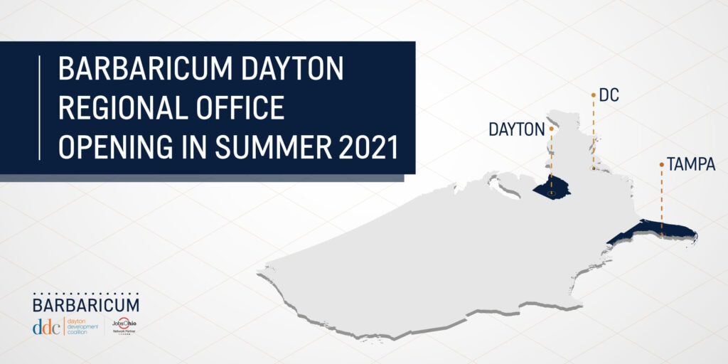 Barbaricum Selects Dayton for Regional Expansion